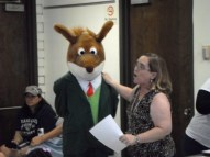 Geronimo Stilton at the HH Library Aug 17