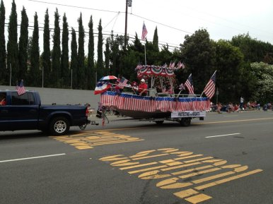 July 4th 2013 HHIA Float