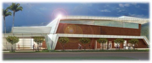 rendering of community center latest